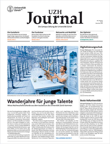 UZH Journal 4/18 (Cover)