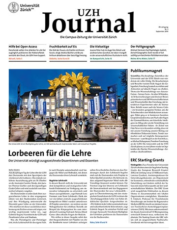 UZH Journal 3/19 (Cover)